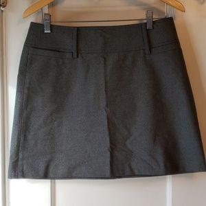 The Limited Stretch grey mini skirt - NWT